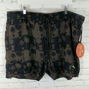 Tommy Bahama Palm Reader Swim Shorts